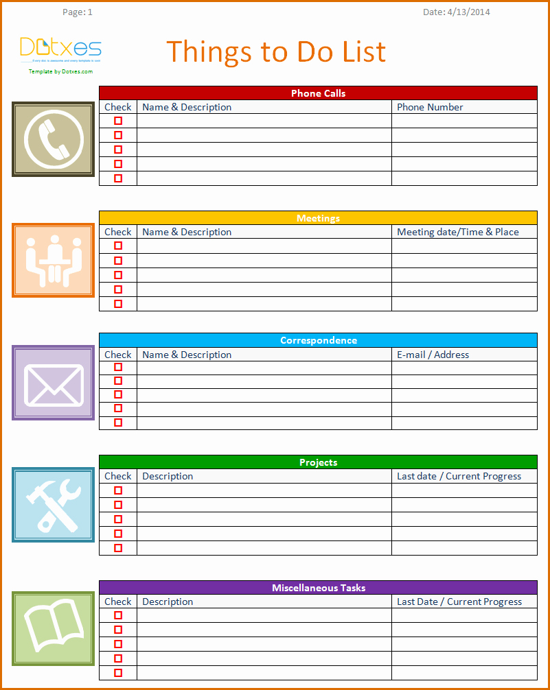 To Do List Weekly Template New 8 Weekly to Do List Template