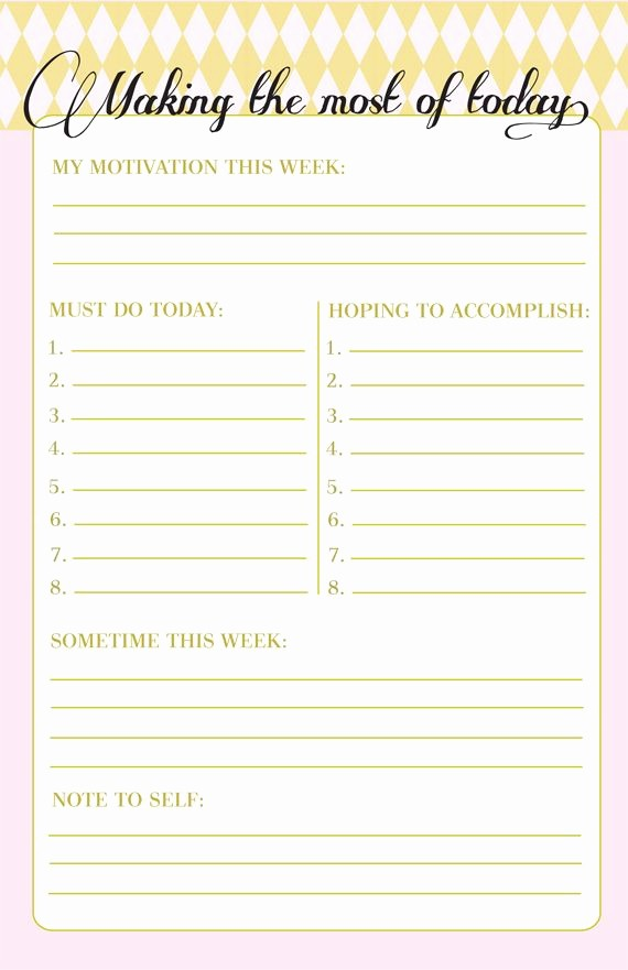 Today to Do List Template Awesome Making the Most Of today Printable to Do List