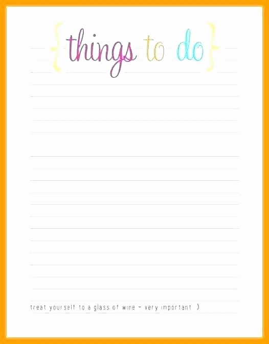 Today to Do List Template Inspirational Daily to Do List Template Word Printable Templates Pretty