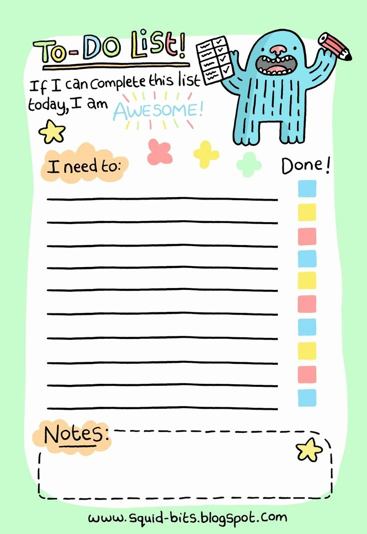 Today to Do List Template Lovely Printable to Do List Templates