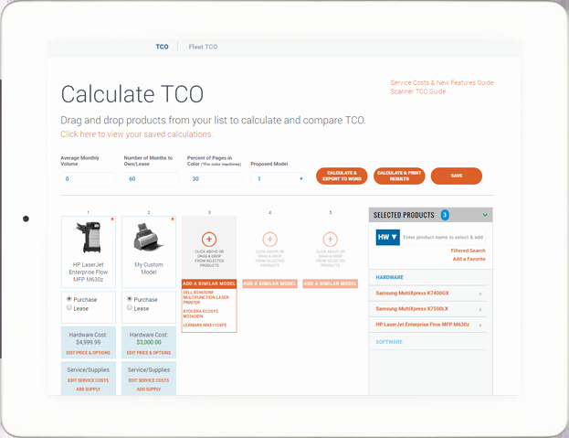 Total Cost Of Ownership Calculations Awesome Petitive Intelligence & Sales tools Buyers Lab