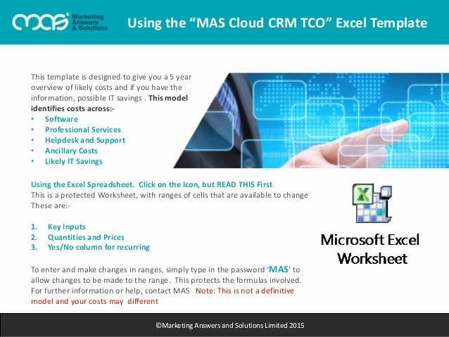 Total Cost Of Ownership Example Unique Mas Ebook total Cost Of Ownership Cloud Crm