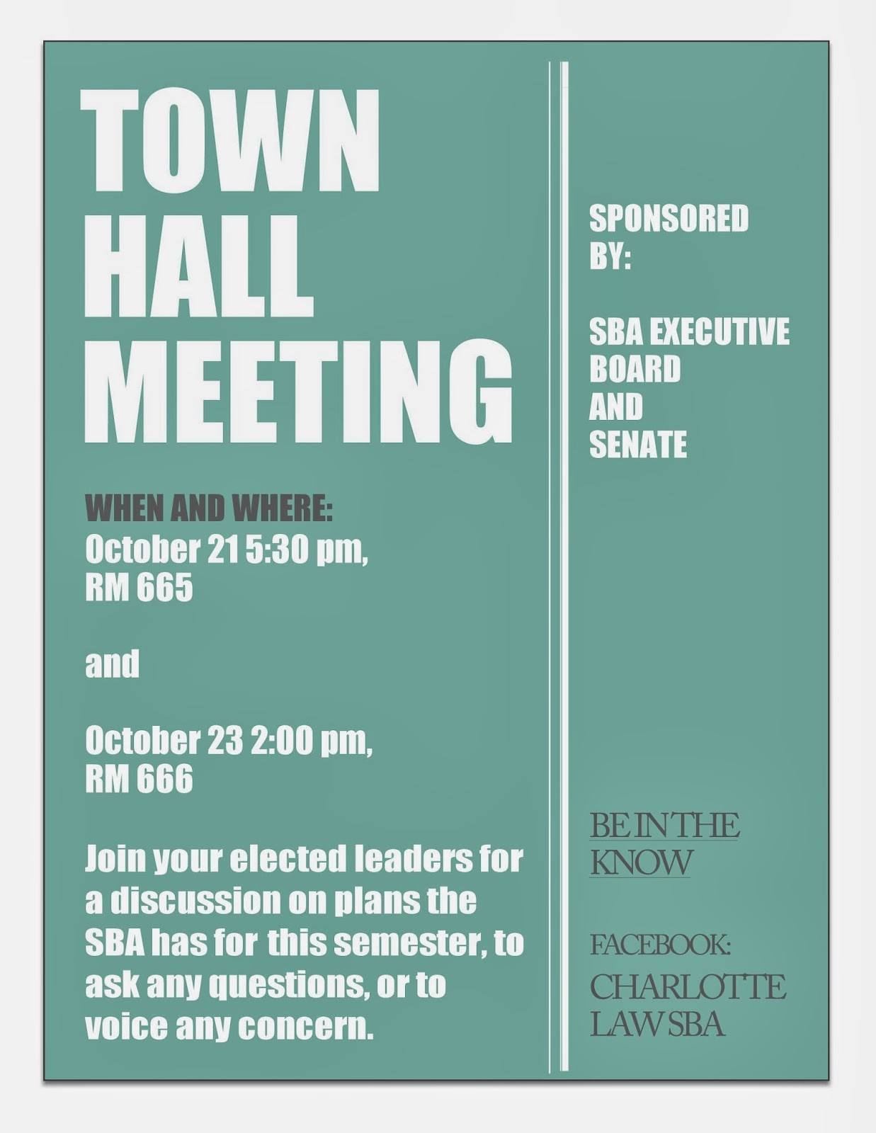Town Hall Meeting Agenda Template Best Of Charlotte Law Sba town Hall Meeting 10 21 and 10 23