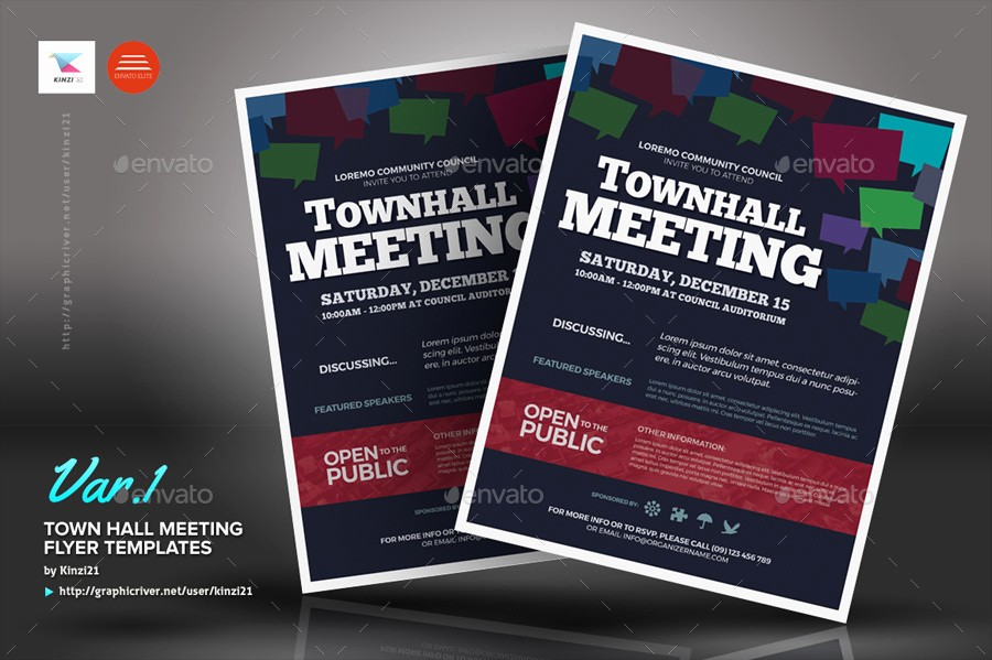 Town Hall Meeting Agenda Template Luxury Meeting Flyer Template Bing Images