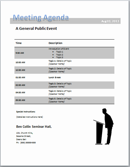 Town Hall Meeting Agenda Template Luxury town Hall Meeting Agenda Template tolg Jcmanagement
