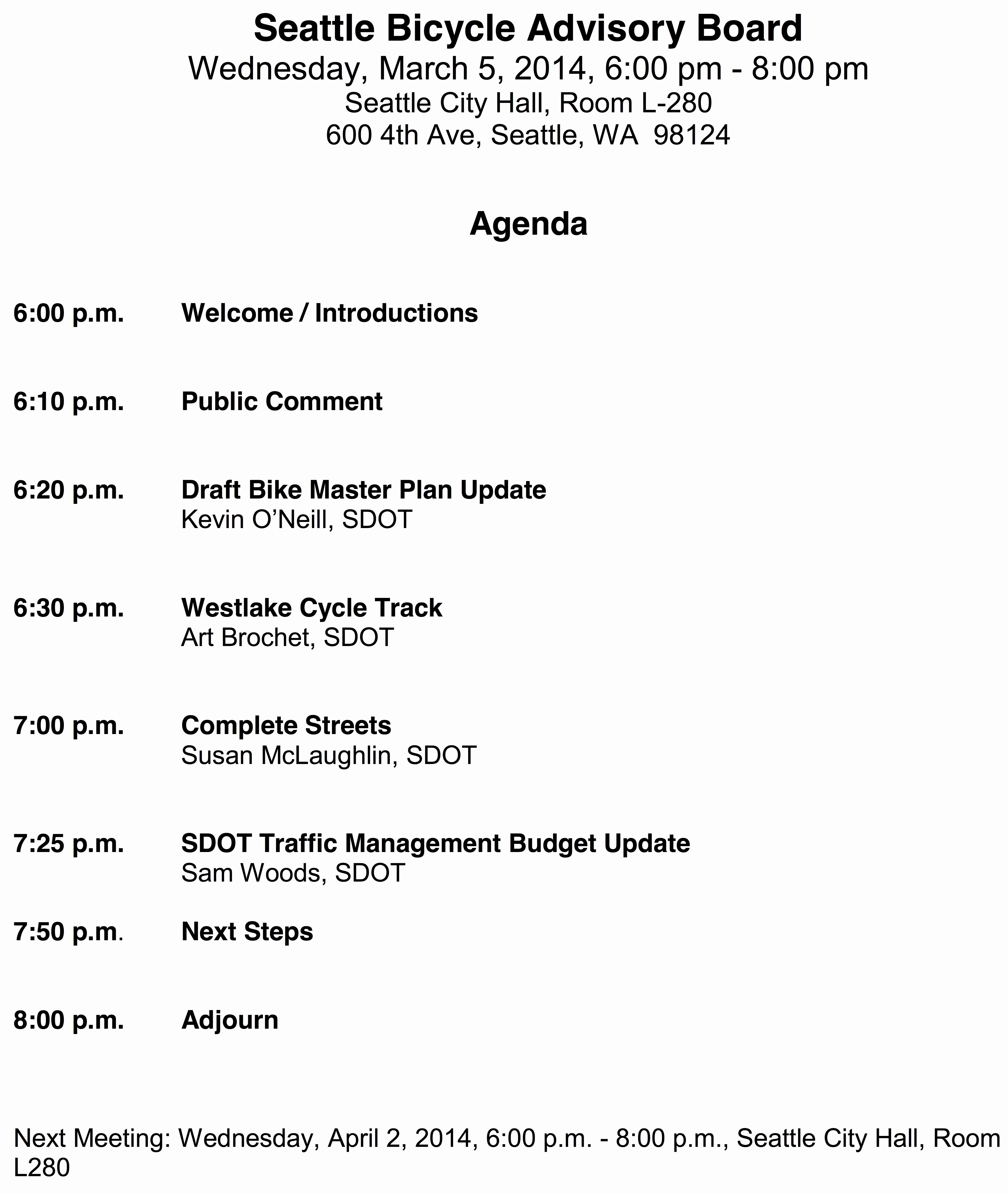 Town Hall Meeting Agenda Template Unique Tap for March Bike Board Meeting Westlake Bike Plan