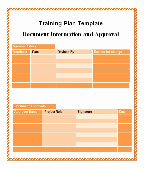 Training Agenda Template Microsoft Word Best Of 20 Sample Training Plan Templates to Free Download