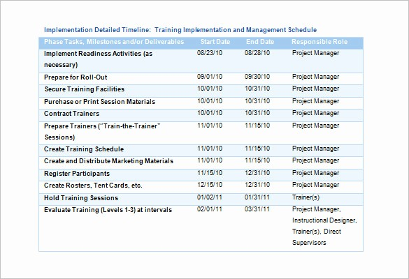 Training Agenda Template Microsoft Word Lovely Training Schedule Template 7 Free Sample Example