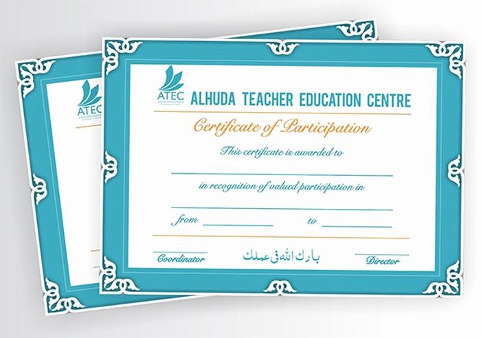Training Certificate Template Free Download Beautiful 15 Training Certificate Templates Free Download Designyep