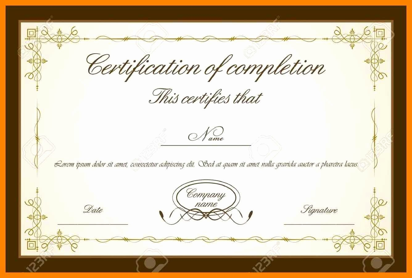 Training Certificate Template Free Download Best Of 9 Certificate Backgrounds