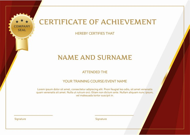 Training Certificate Template Free Download Fresh Free Png Certificates Transparent Certificates Png