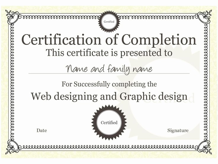 Training Certificates Templates Free Download Awesome 17 Best Images About Certificate Templates On Pinterest