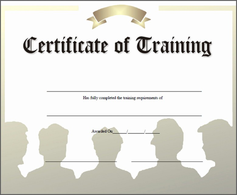 Training Certificates Templates Free Download Elegant 23 Printable Training Certificates