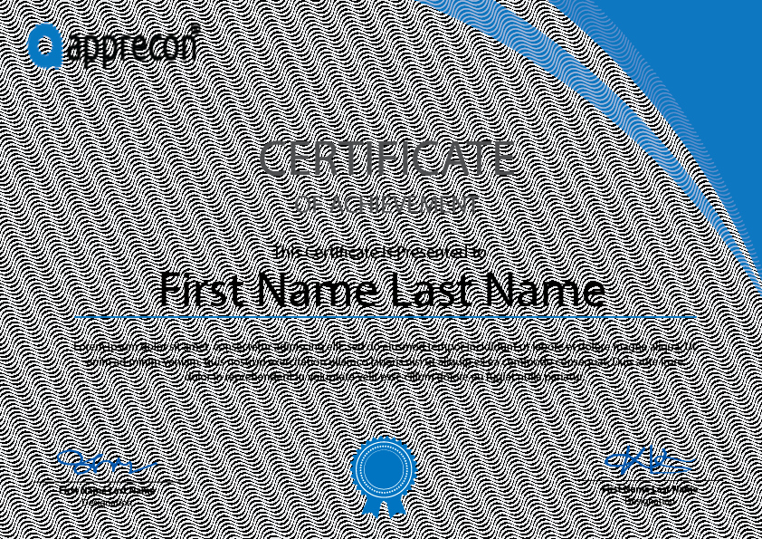 Training Certificates Templates Free Download Elegant Freebies Certificate Template Free Download On Behance