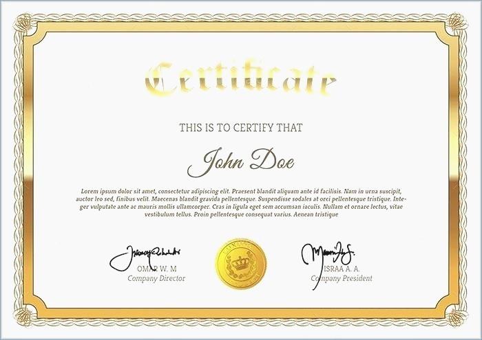 Training Certificates Templates Free Download Fresh Powerpoint Certificate Templates Free Download – Playitaway