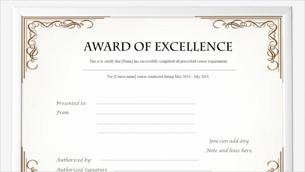 Training Certificates Templates Free Download Inspirational 99 Free Printable Certificate Template Examples In Pdf