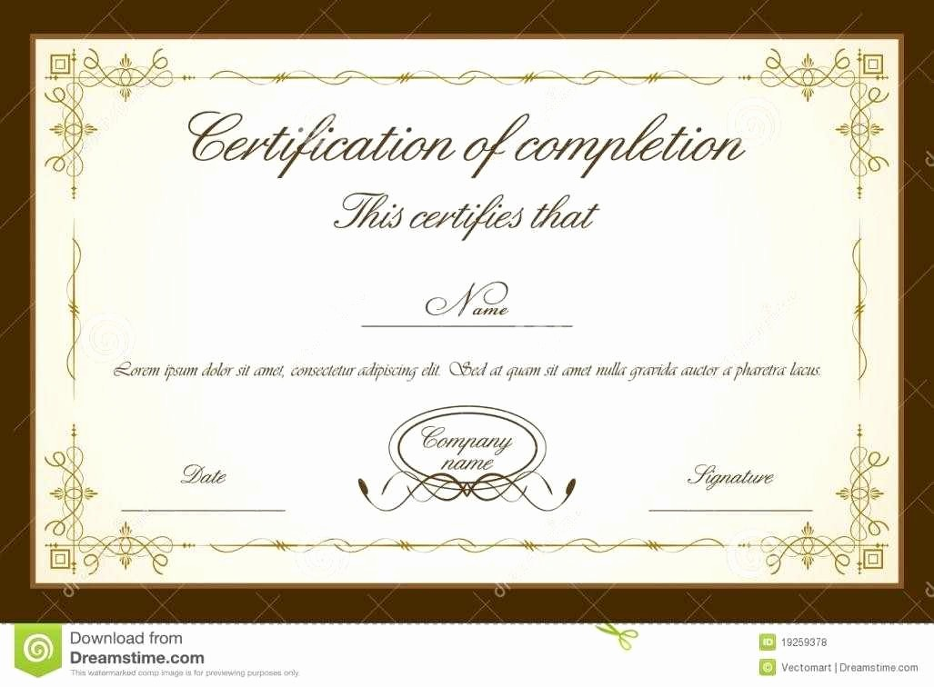 Training Certificates Templates Free Download Lovely Certificate Templates Psd Certificate Templates