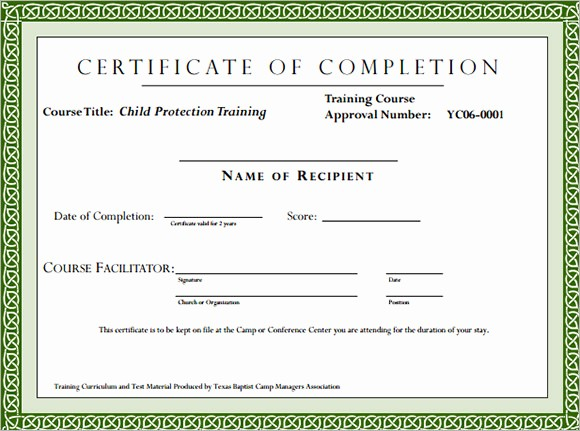 Training Certificates Templates Free Download Lovely Puter Class Certificate Templates Flockerfo