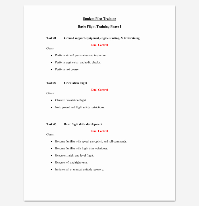 Training Course Outline Template Word Best Of Training Course Outline Template 24 Free for Word & Pdf