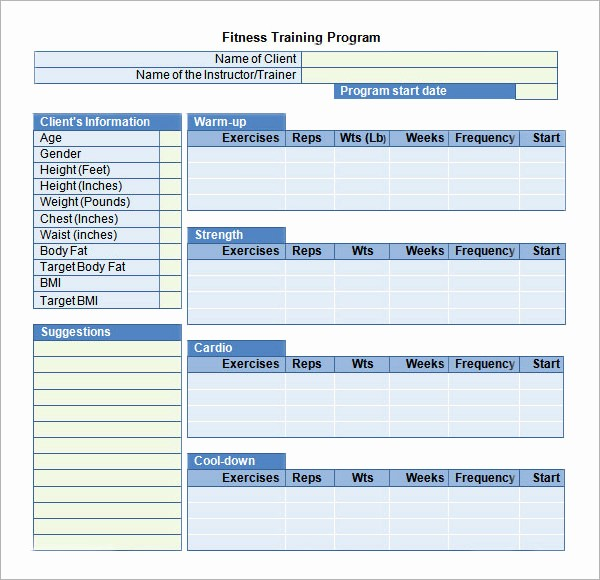 Training Course Outline Template Word Unique 20 Sample Training Plan Templates to Free Download