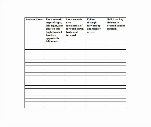 Training Lesson Plan Template Word Best Of Physical Education Lesson Plan Template 7 Free Word