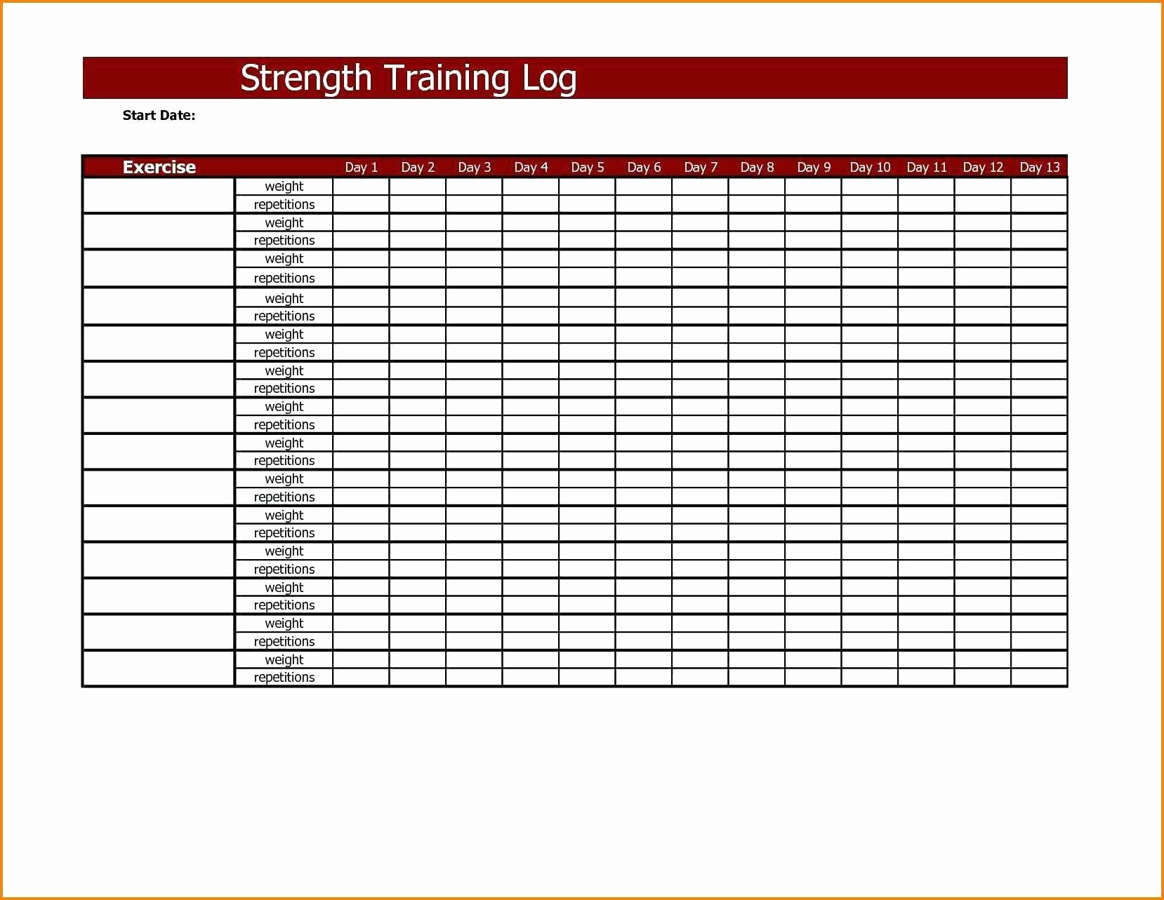 Training Plan Template Excel Download Beautiful Template for Training Plan