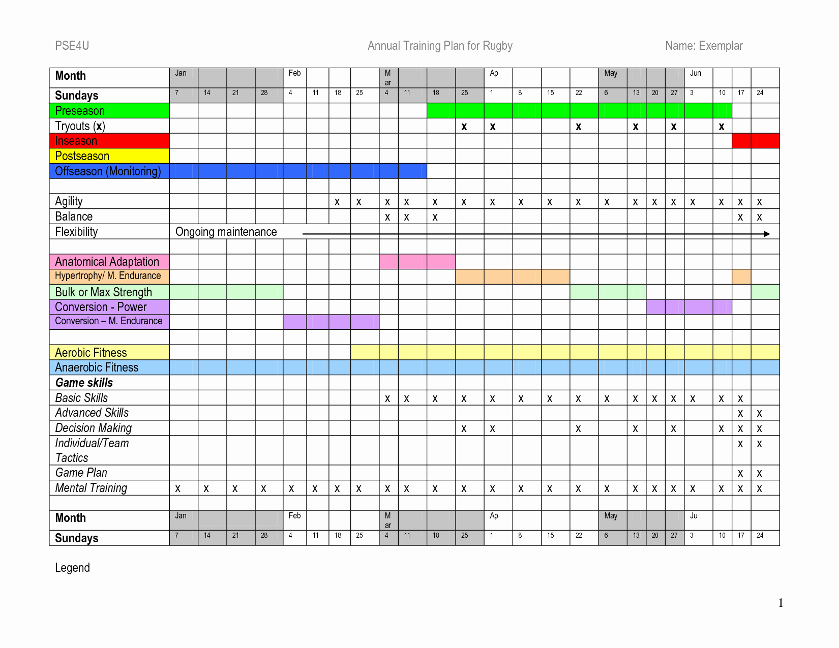 Training Plan Template Excel Download Luxury Plan Training Plan Template