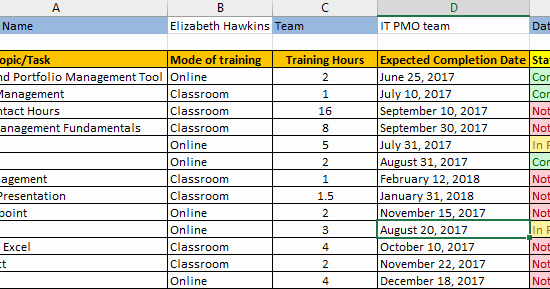 Training Plan Template Excel Download New Employee Training Plan Excel Template Download Free