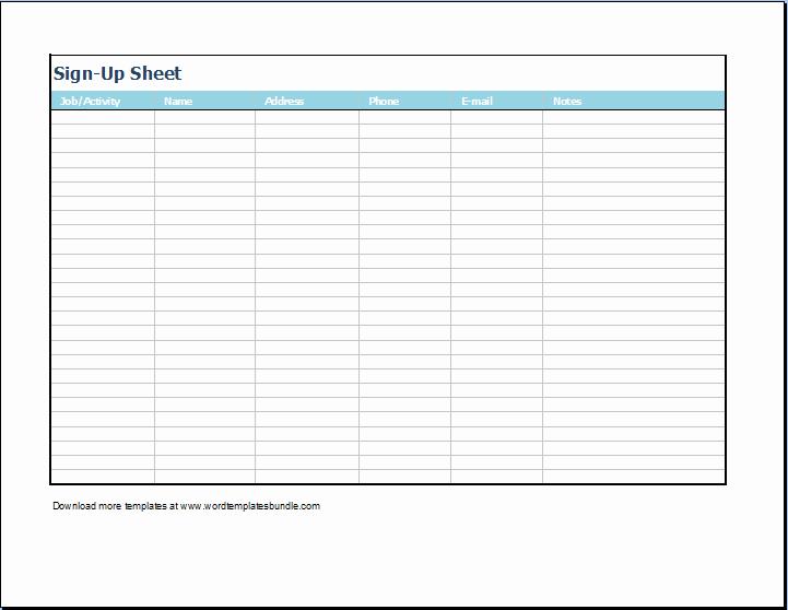 Training Sign In Sheet Excel Elegant Excel Sign In Sheet