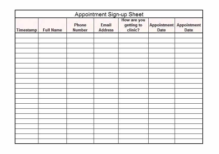 Training Sign In Sheet Excel Inspirational Class Sign Up Sheet Template – Freewarearenafo