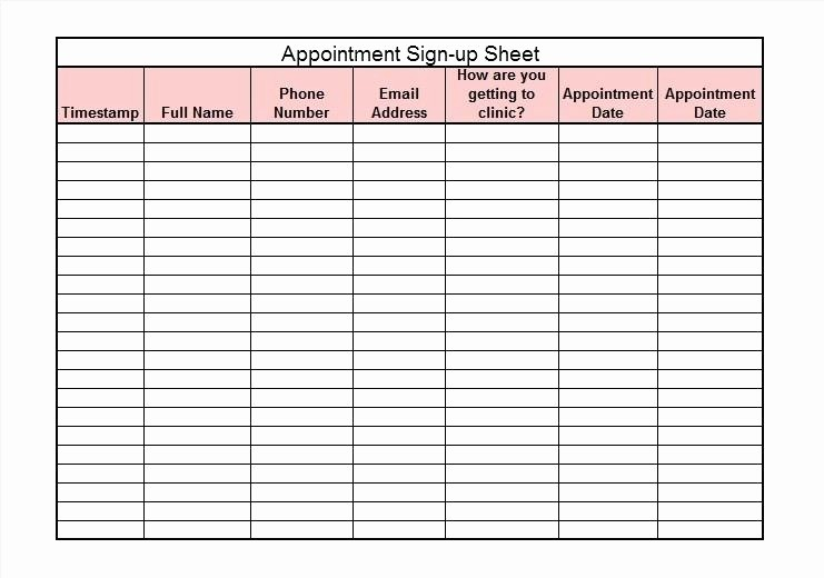 Training Sign In Sheet Excel Lovely the Generic Sign In Sheet Template is Like Water It Can