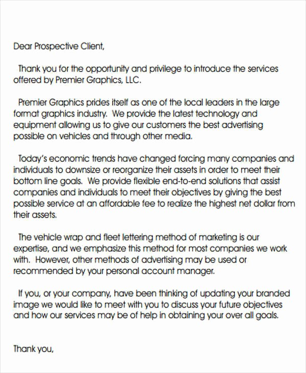 Travel Agent Letter to Client Awesome Introduction Letter Templates 7 Free Sample Example