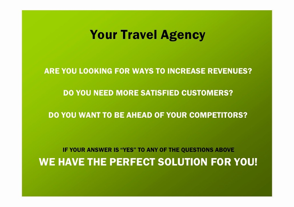 Travel Agent Letter to Client Luxury Business Proposal for Travel Agencies