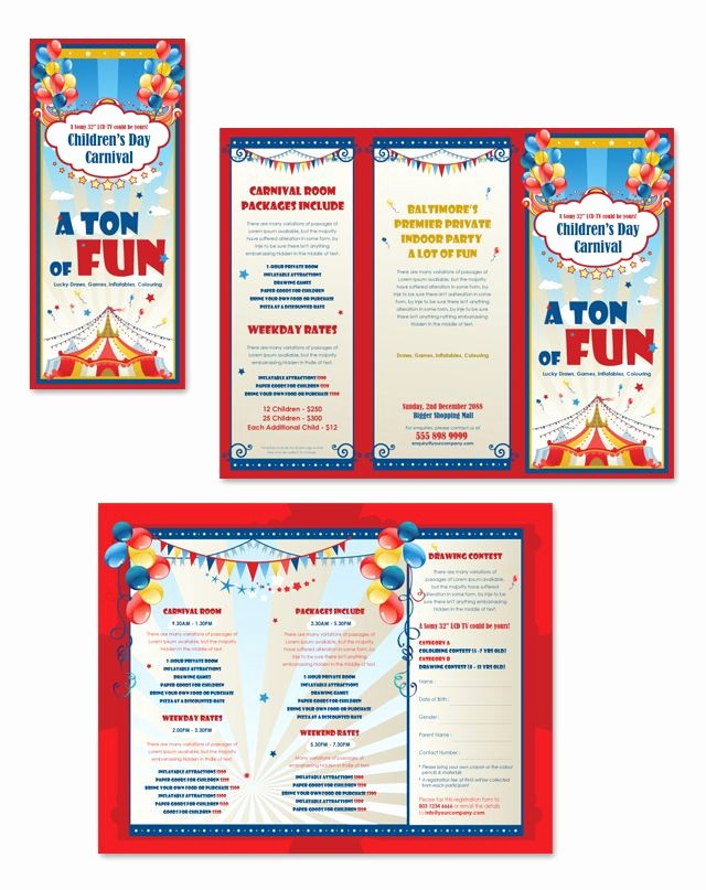 Travel Brochure Template for Kids Awesome Pin by Dlayouts On Graphic Design Label & Packaging