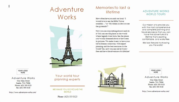 Travel Brochure Template for Kids Inspirational Travel Brochure Examples for Kids Renanlopes