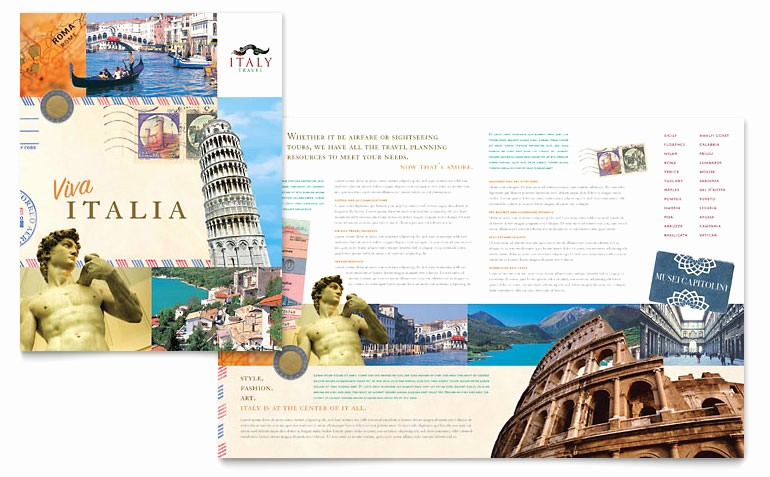 Travel Brochure Template for Kids Inspirational Tri Fold Travel Brochure Template for Kids