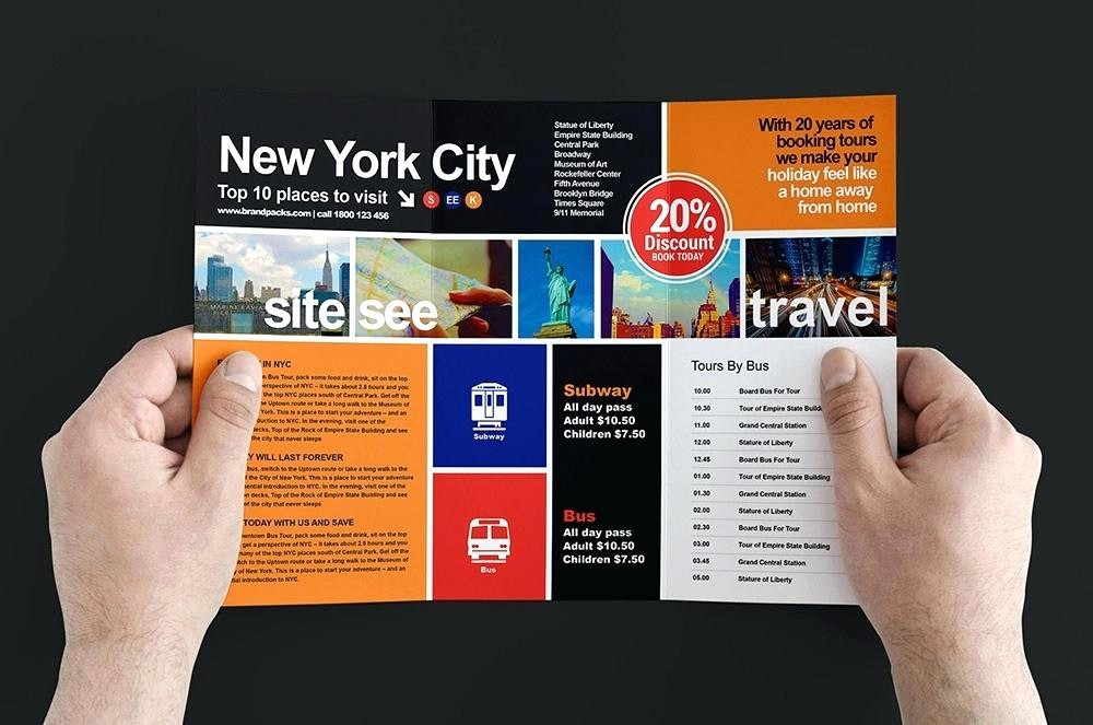 Travel Brochure Template for Kids Luxury Brochure Template for Kids Printable Brochure Templates