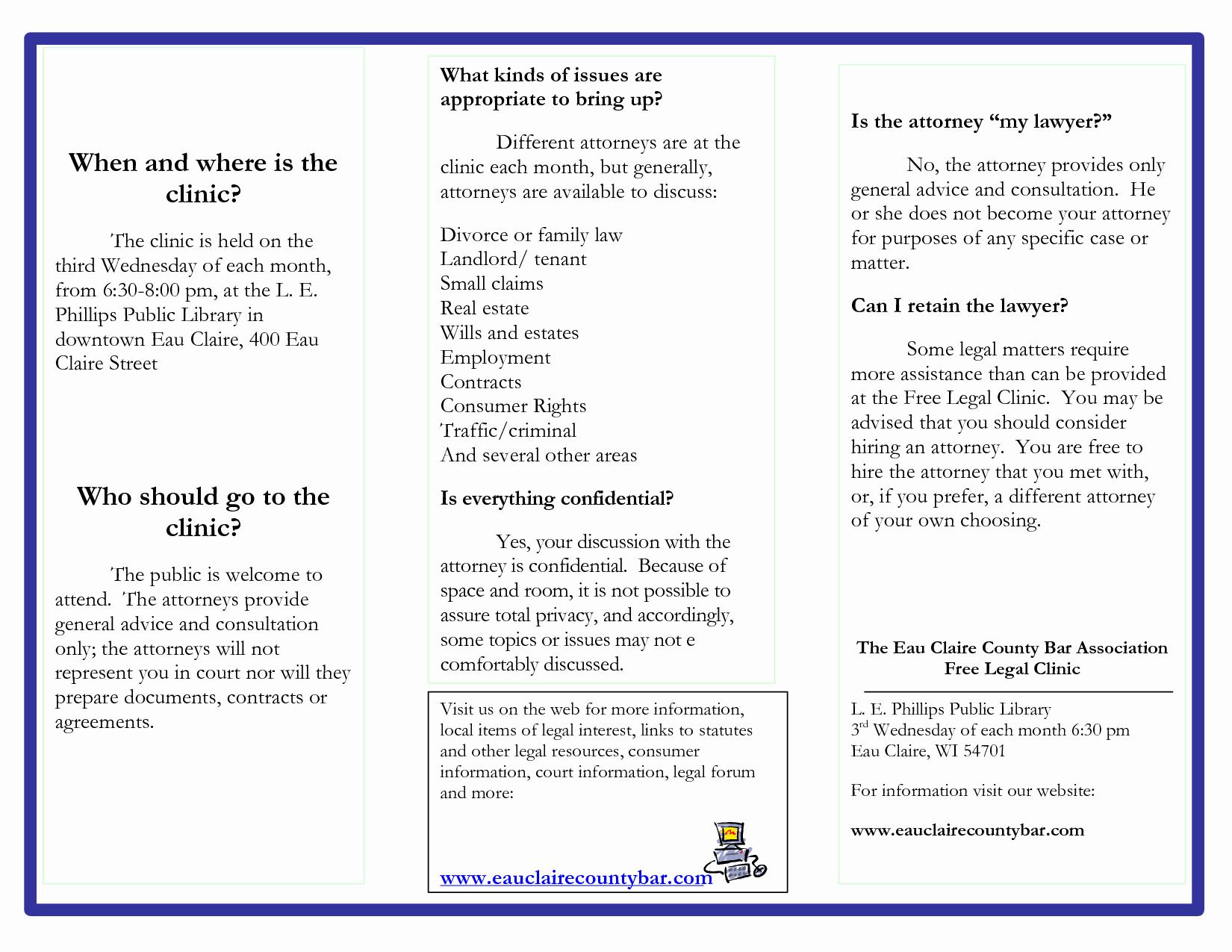 post brochure sample free printable