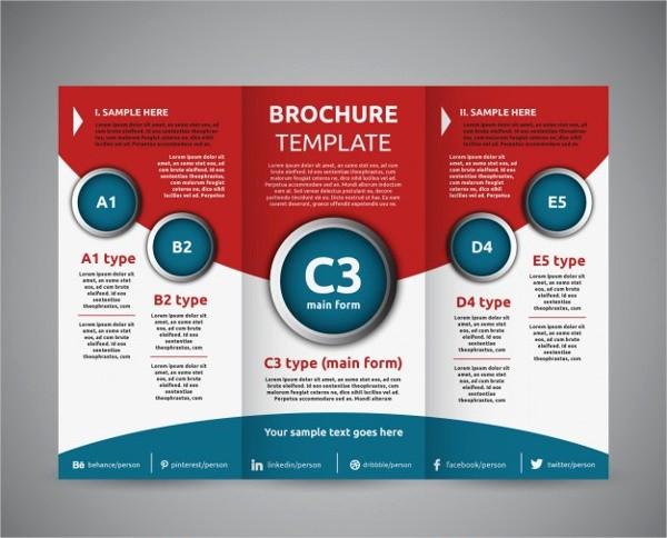 Tri-fold Brochure Examples Elegant 11 Education Tri Fold Brochures Design Templates