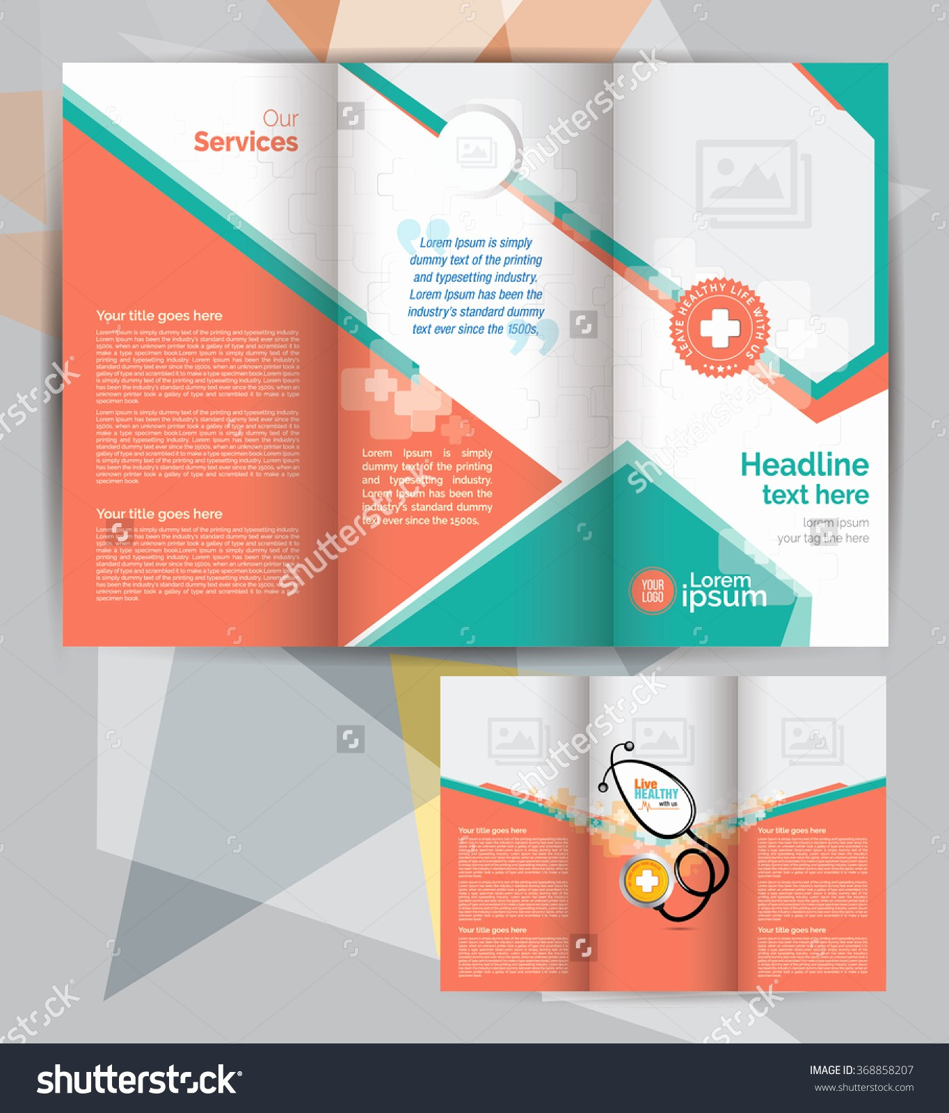 Tri-fold Brochure Examples Elegant Free Medical Brochure Templates Portablegasgrillweber