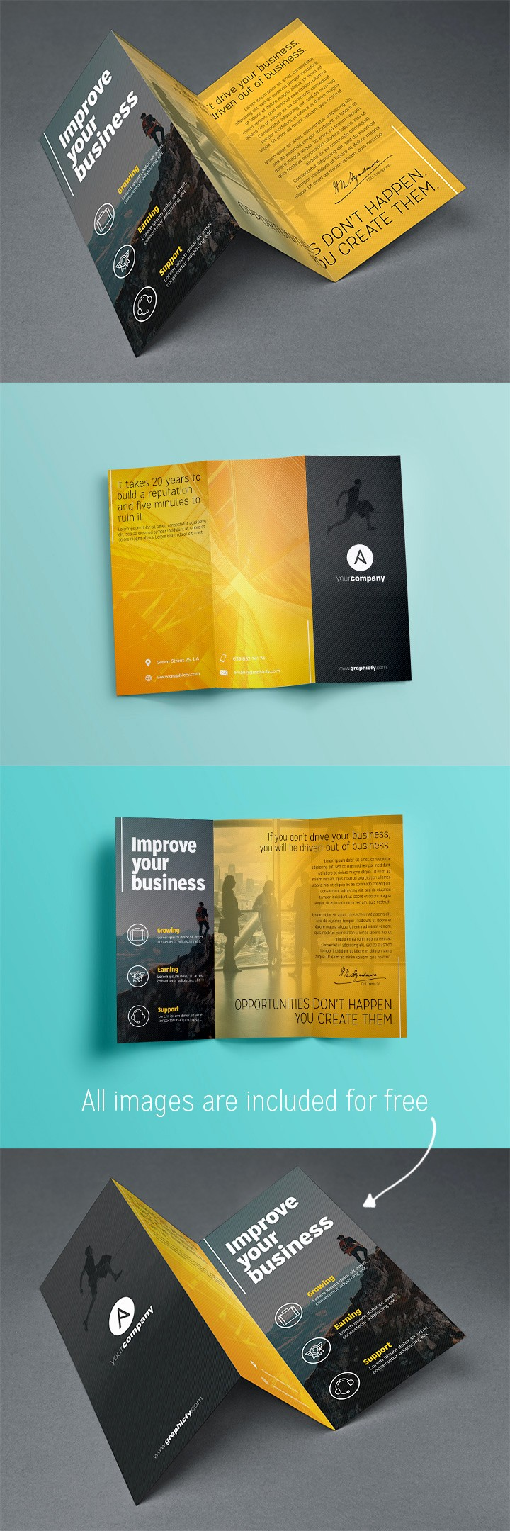 Tri-fold Brochure Examples Inspirational Tri Fold Brochure Template Psd Brochure Templates