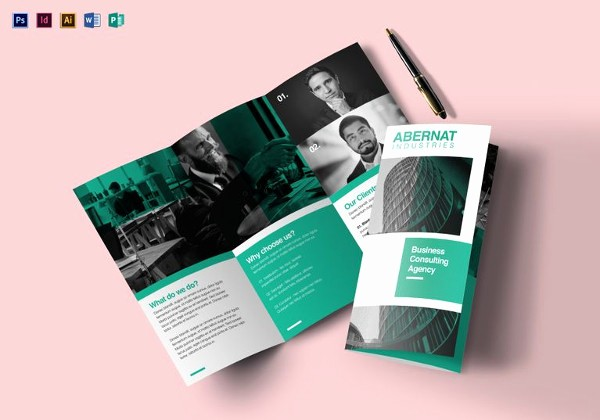Tri-fold Brochure Examples Inspirational Tri Fold Brochure Templates 44 Free Word Pdf Psd Eps