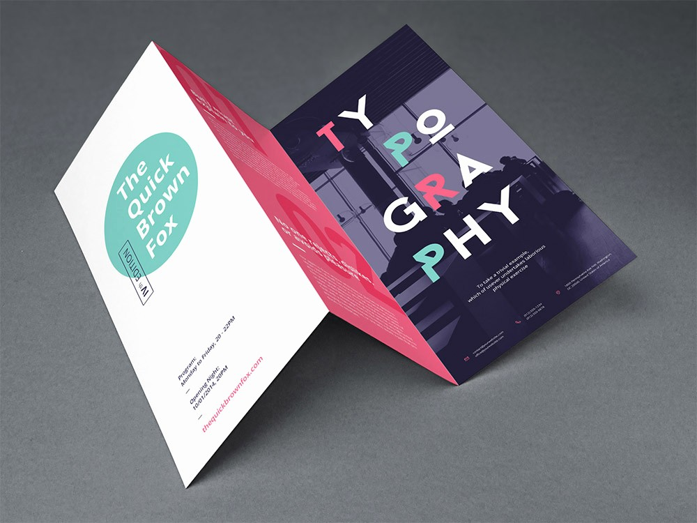 Tri-fold Brochure Examples Unique 15 Free Brochure Templates for Designers to Have