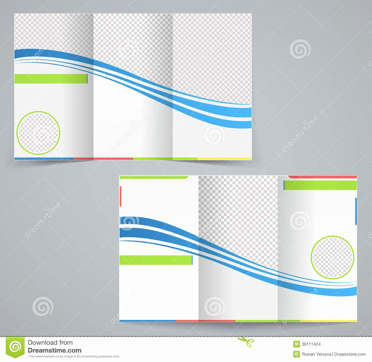Tri-fold Brochure Examples Unique Tri Fold Business Brochure Template Stock Vector