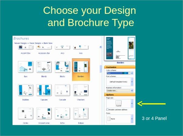 Tri Fold Brochure Template Powerpoint Best Of Powerpoint Brochure Template