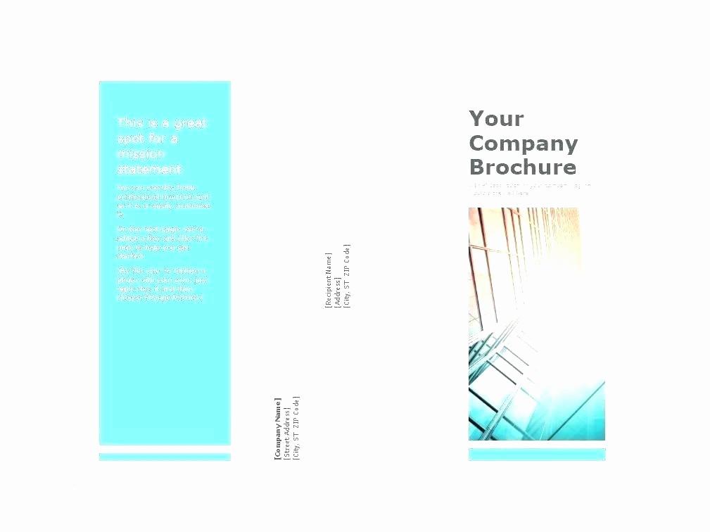 business fold brochure layout design vector tri indesign template stock leaflet
