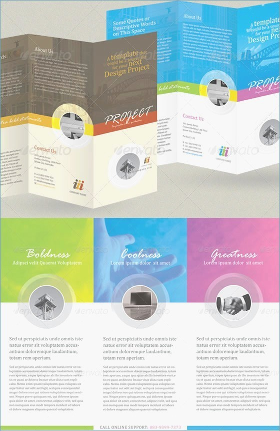 Tri Fold Brochure Template Powerpoint Elegant Tri Fold Brochure Template Powerpoint – Skywrite