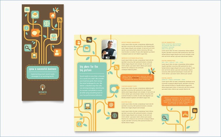 Tri Fold Brochure Template Powerpoint New Blank Tri Fold Brochure Template Powerpoint – Playitaway