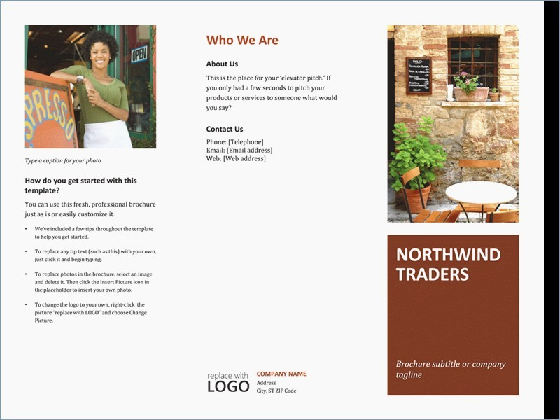 Tri Fold Brochure Template Powerpoint New Tri Fold Brochure Template Powerpoint – Skywrite