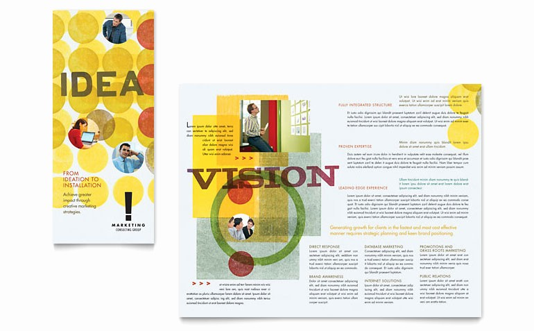 Tri Fold Brochure Template Publisher Best Of Marketing Consultant Tri Fold Brochure Template Word
